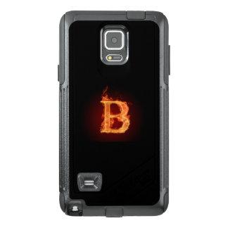 Capa de telefone do ob do alfabeto B