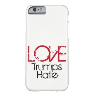 Capa de telefone do ódio dos trunfos do amor
