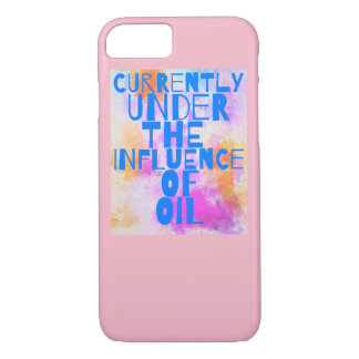 Capa de telefone do óleo essencial