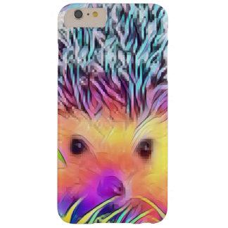 Capa de telefone do ouriço do arco-íris