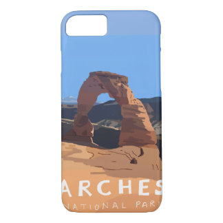 Capa de telefone do parque nacional dos arcos -