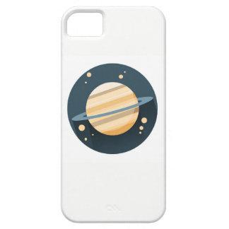 Capa de telefone do planeta do espaço