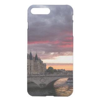 Capa de telefone do por do sol de Paris