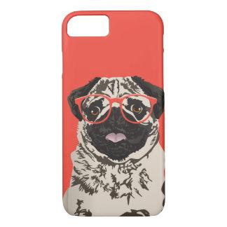 Capa de telefone do Pug do hipster