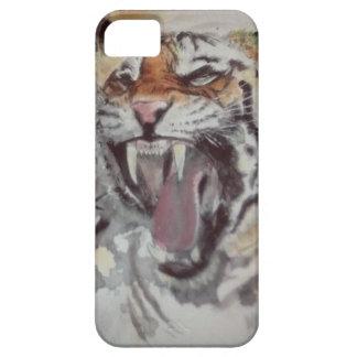 Capa de telefone do rugido do tigre