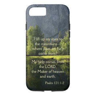 Capa de telefone do salmo do parque nacional de
