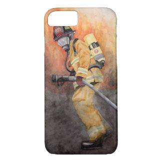 Capa de telefone do sapador-bombeiro