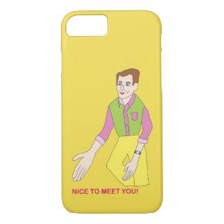 Capa de telefone do Sr. Agradável Encontro Você