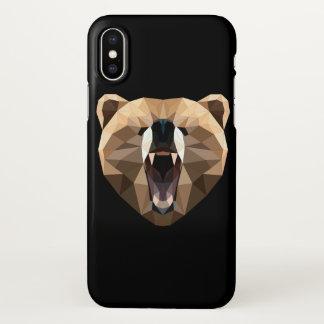 Capa de telefone do urso