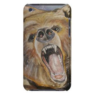 Capa de telefone do urso da rosnadura
