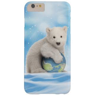 Capa de telefone do urso polar