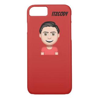 Capa de telefone do vermelho de ItzCody