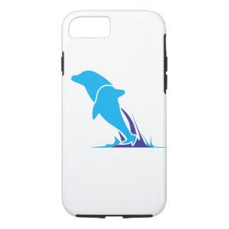 Capa de telefone dobro do golfinho