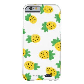 Capa de telefone dos abacaxis do verão