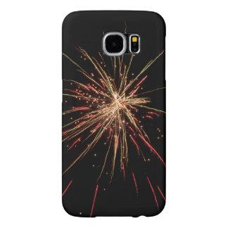 Capa de telefone dos fogos-de-artifício capas samsung galaxy s6