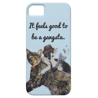 Capa de telefone dos gatos de Gangsta