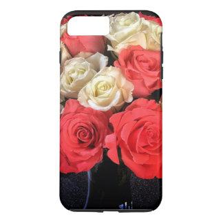 Capa de telefone dos rosas