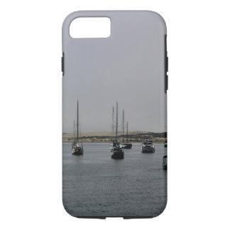 Capa de telefone dos veleiros da baía de Morro