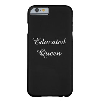 Capa de telefone educada da rainha