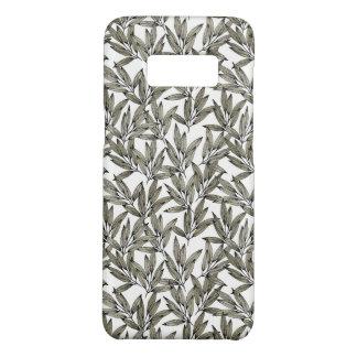 Capa de telefone elegante com impressão botânico