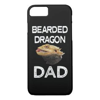 Capa de telefone engraçada do lagarto do pai