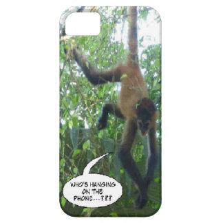 Capa de telefone engraçada do macaco capa barely there para iPhone 5