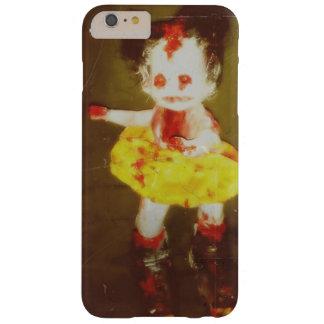 capa de telefone escura da arte da boneca