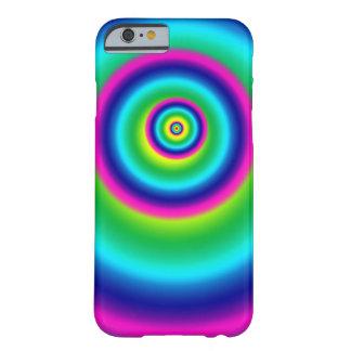 Capa de telefone espiral do arco-íris