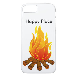 Capa de telefone feliz do lugar