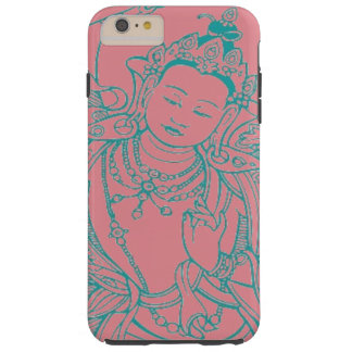 """Capa de telefone fêmea de Buddha "" Capa Tough Para iPhone 6 Plus"