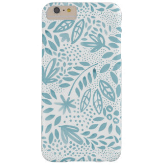 Capa de telefone floral azul do Belle