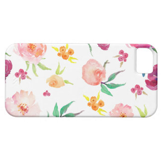 Capa de telefone floral bonito