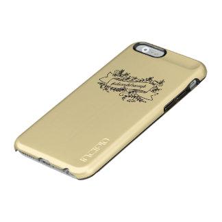 Capa de telefone floral bonito do trunfo da capa incipio feather® shine para iPhone 6