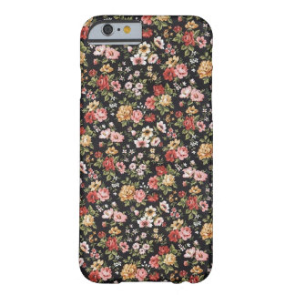 Capa de telefone floral capa barely there para iPhone 6