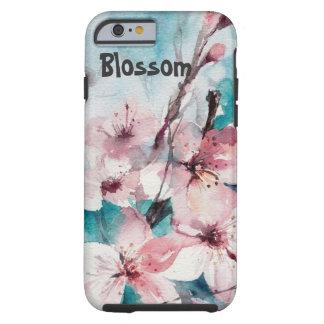 Capa de telefone floral capa tough para iPhone 6