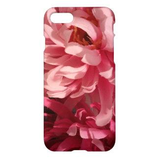 Capa de telefone floral cor-de-rosa misturada do