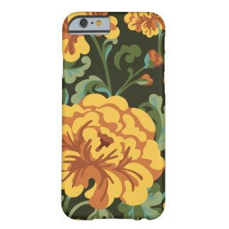 Capa de telefone floral da flor capa barely there para iPhone 6