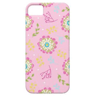 Capa de telefone floral das explosões de capas para iPhone 5