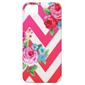 Capa de telefone floral de Chevron Capa Para iPhone 5
