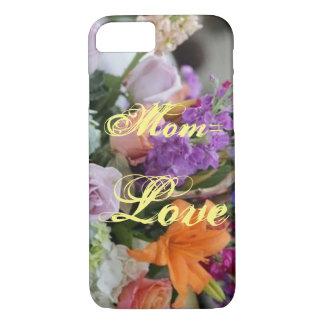 Capa de telefone floral do dia das mães