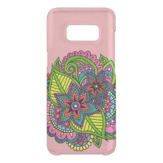 Capa de telefone floral do Henna