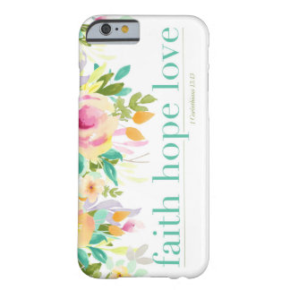 Capa de telefone floral do iPhone 6/6s do amor |
