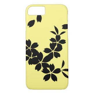 capa de telefone floral do iPhone 7