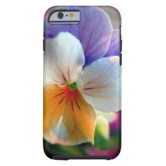 Capa de telefone floral fantástica da cara