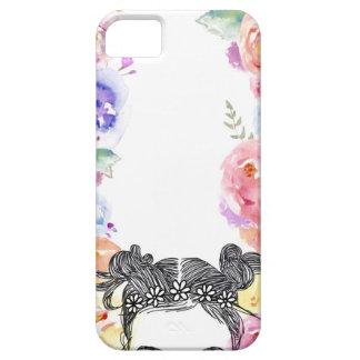 Capa de telefone floral Indie
