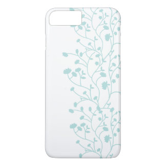 Capa de telefone floral minimalista elegante das