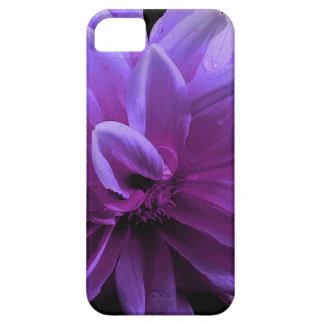 Capa de telefone floral roxa
