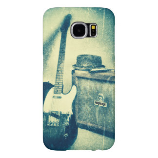 Capa de telefone funky da música rock da guitarra