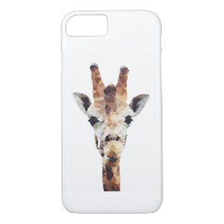 Capa de telefone geométrica do girafa