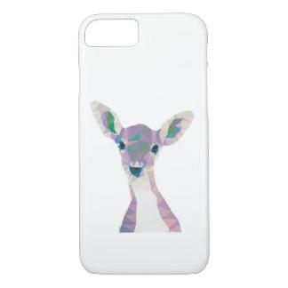Capa de telefone geométrica dos cervos do pop art